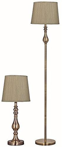 Park Madison Lighting PMT-1814-11 Two Piece Table and Floor