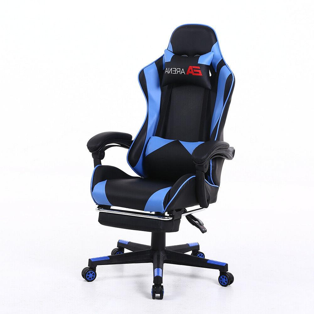 Racing Gaming Swivel High Office Computer Seat Recliner