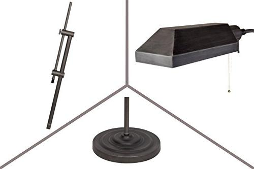 Kira Adjustable Standing Lamp, Brushed Includes 6W Energy Eco-Friendly