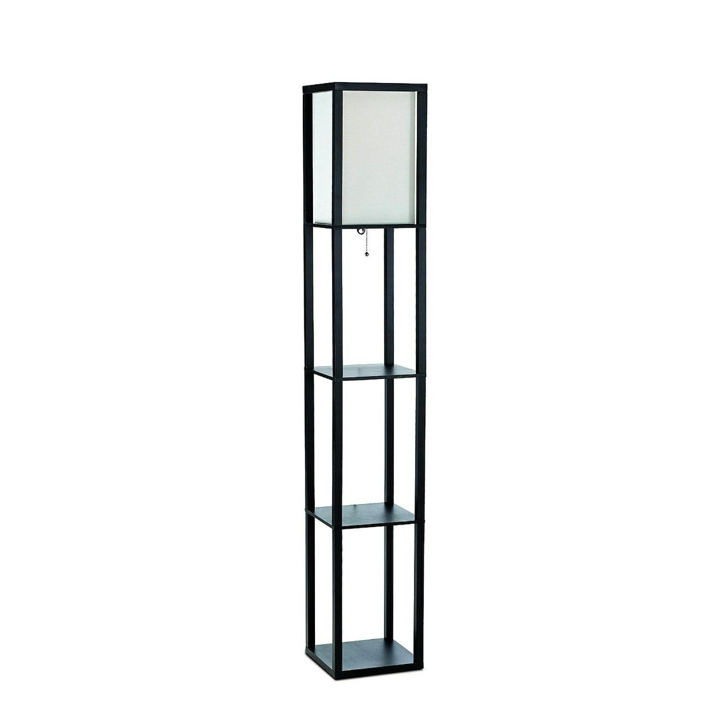 simple design floor lamp etagere organizer storage