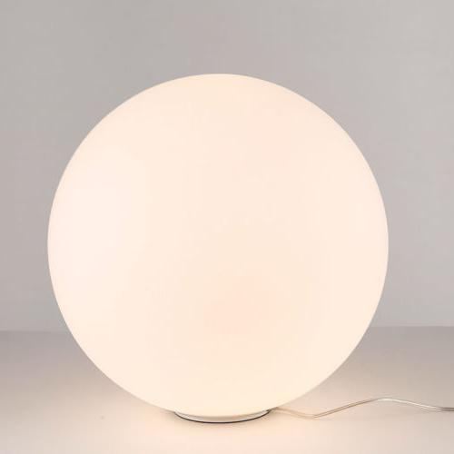 Simple Shade Light Round Base Table Lamp