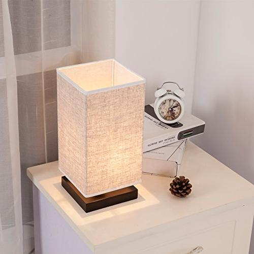 ZEEFO Simple Bedside Desk Fabric Shade and Living Room, Baby College Coffee Bookcase