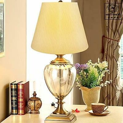 Small Alucset Barrel Paper Lampshade Table Lamp Light,