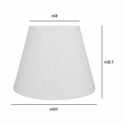 Small Lamp Shade, Barrel Table Lamp and Floor Light,