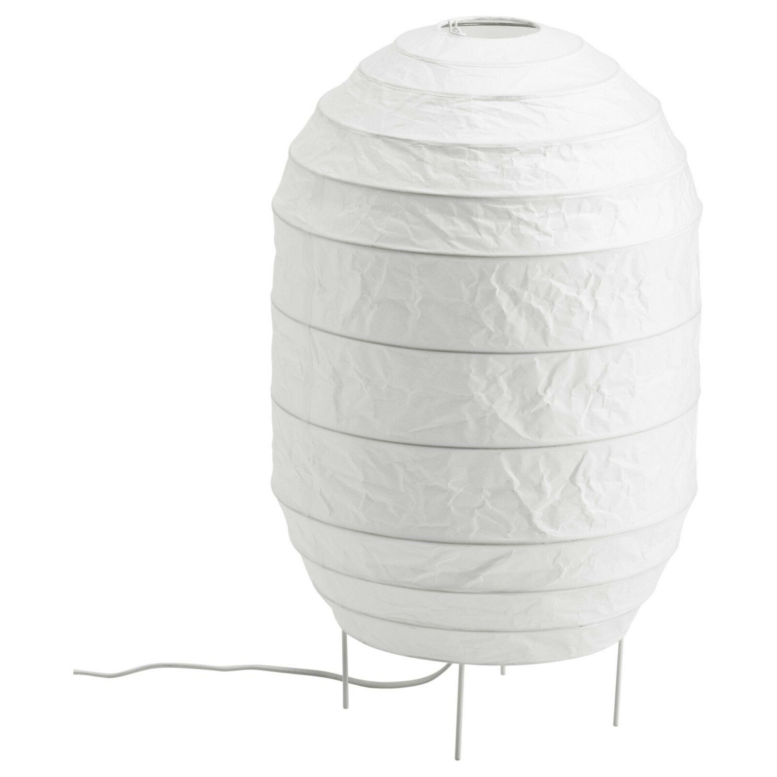 Ikea Storuman Contemporary Floor Lamp Light Rice Paper