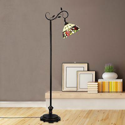 tiffany floor lamp victorian rose