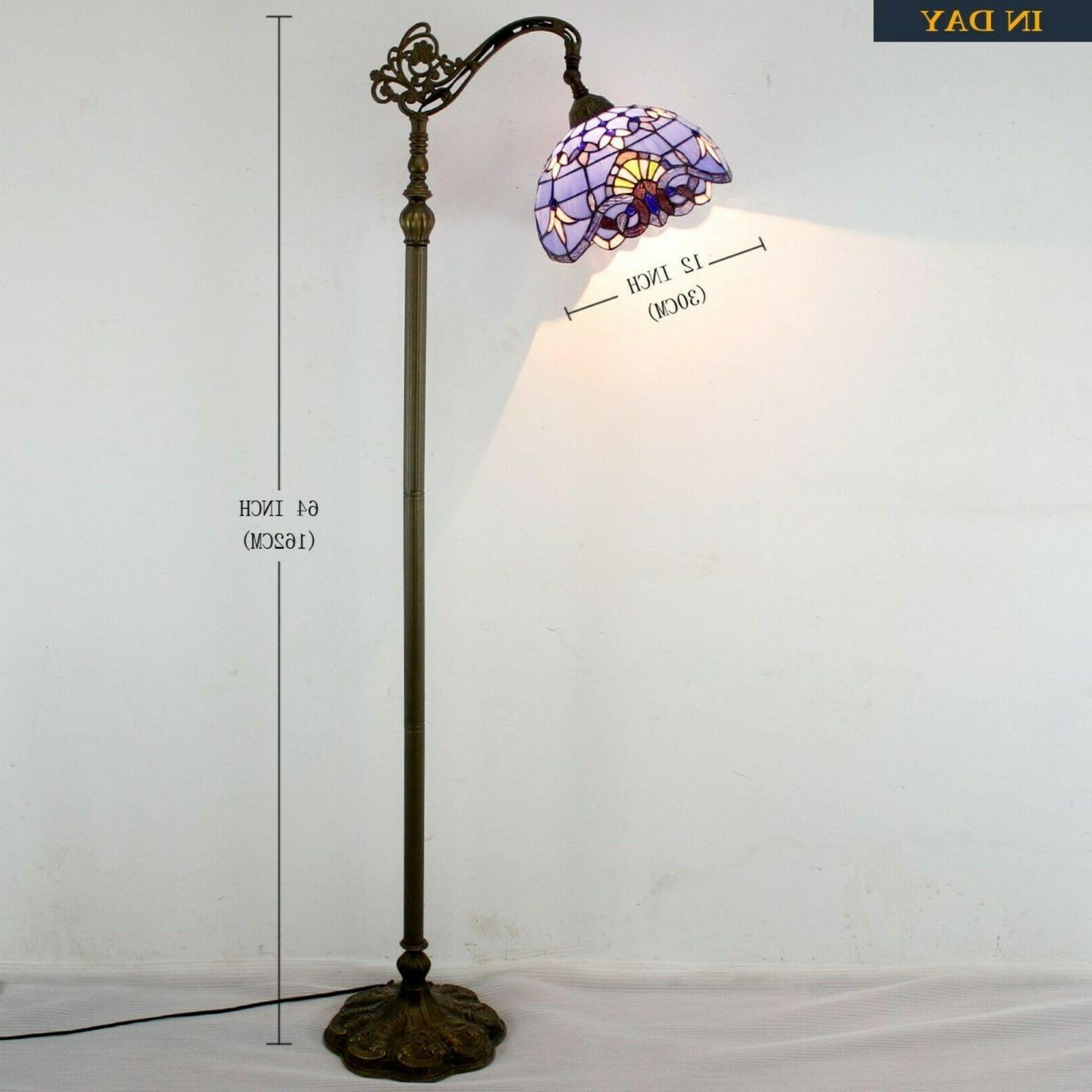 Tiffany Style Lamp Stained Glass High