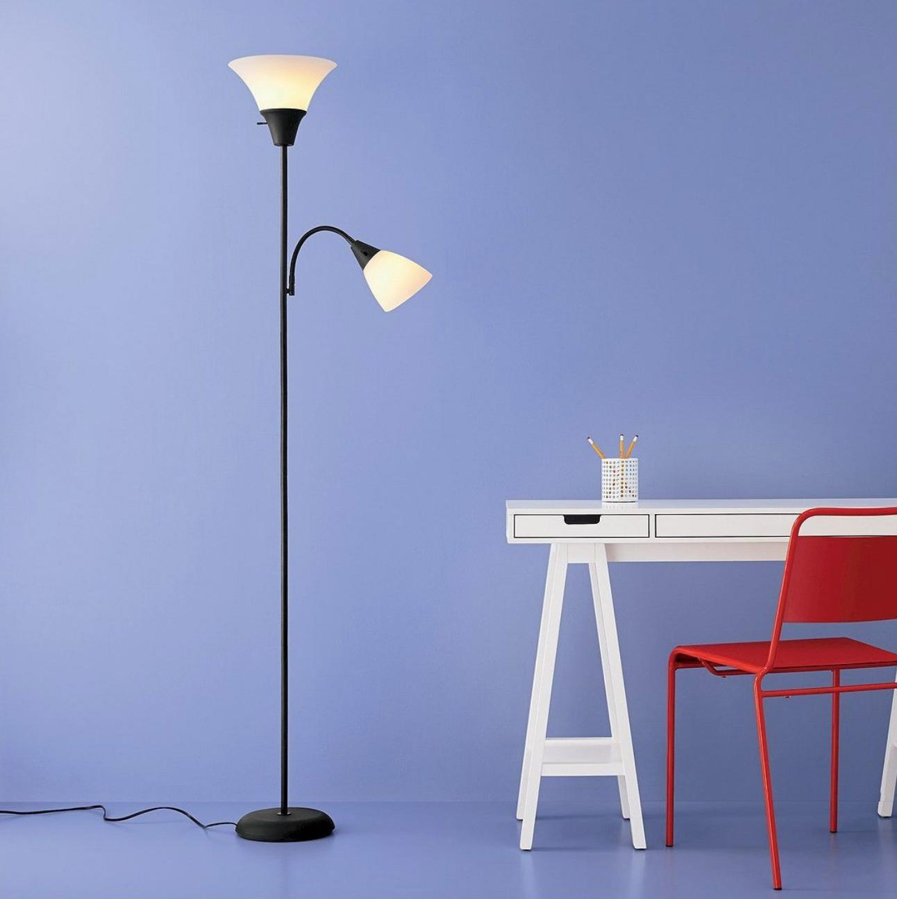 torchiere floor lamp light lamp flexible gooseneck