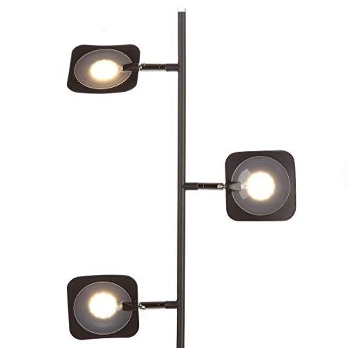 Brightech Bright and Makeup 3 Standing Pole Dimmable & Adjustable Panels, Space -