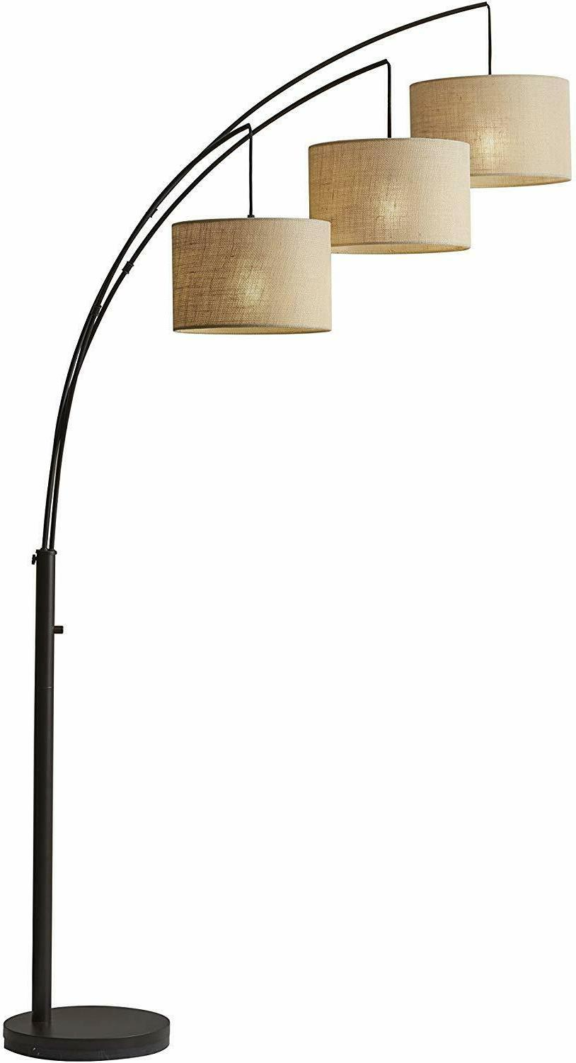 Adesso Floor Lamp Bronze