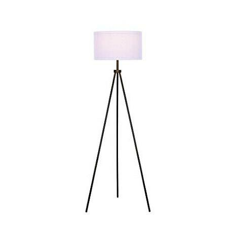 Tripod Floor Modern Vintage Standing Black For Room