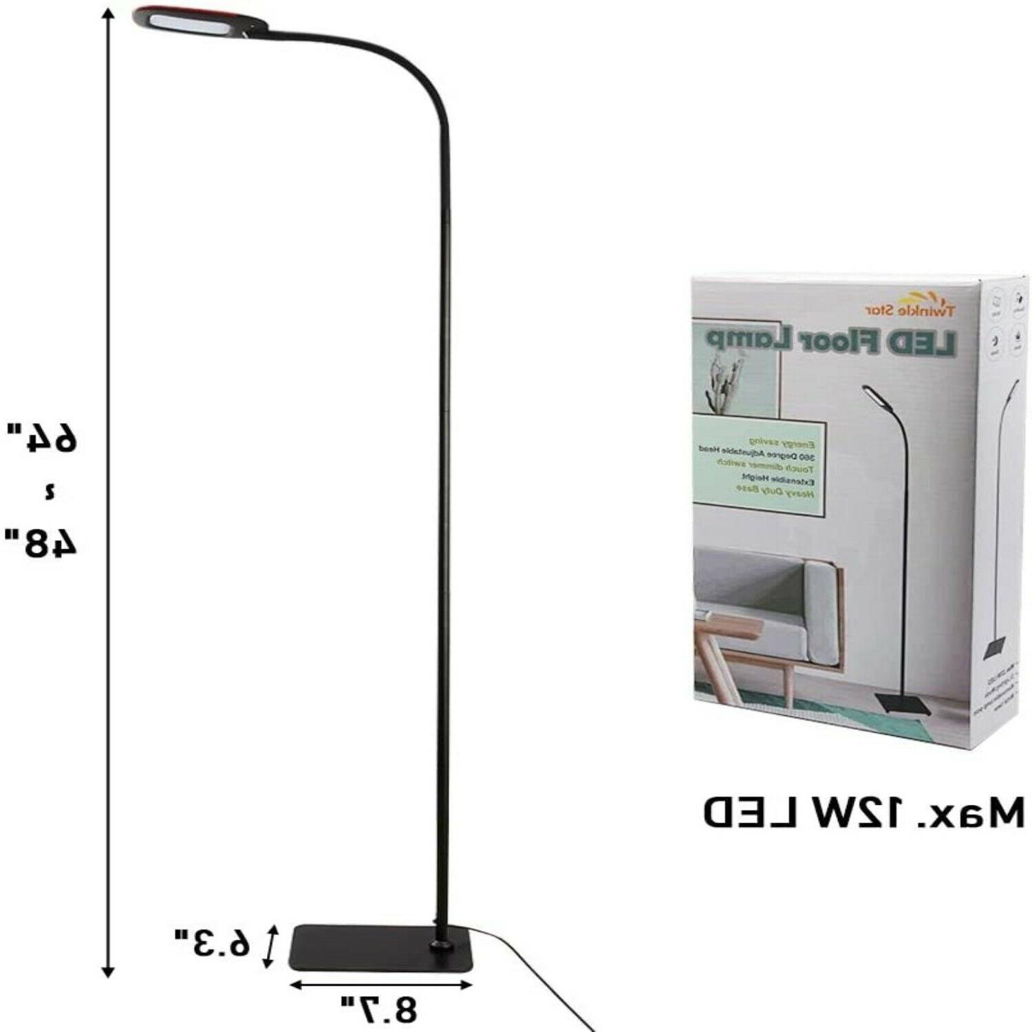 Twinkle Floor Lamp Dimmable LED Lamp, Reading L
