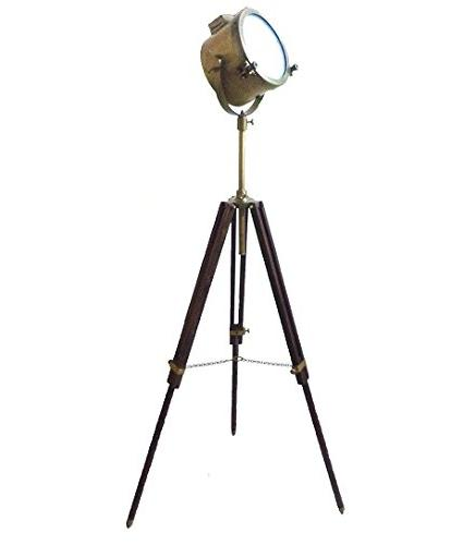 vintage antique modern floor lamp