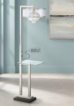 Layne Floor Lamp With Tray Table And Usb Port