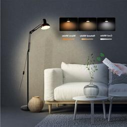LED Floor Lamp Reading Light Dimmable Remote Control Flexibl