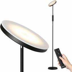 LED Floor Lamp with Stepless Dimming/Color Temperature Torch