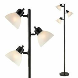 Light Accents Floor Lamp 3 Light Tree Style Standing Lamp wi