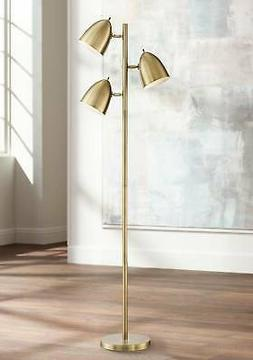 mid century modern floor lamp 3 light