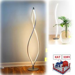 modern led floor lamp dimmable tall standing