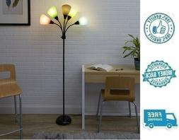 New 5 Color Floor Lamp Multicolor Home Living Room Lighting