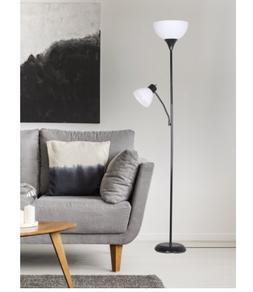 NEW Mainstays 72'' Combo Floor Lamp with Adjustable Reading