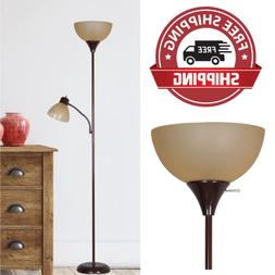 New Metal Floor Lamp with Reading Light for Living Room Upli