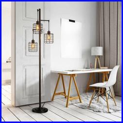 Piper Floor Lamp, 3 LED Edison Bulbs
