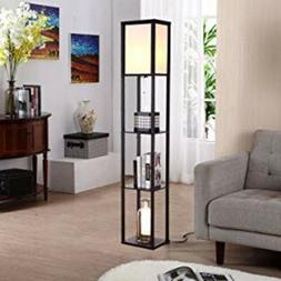 ORIGINAL Floor Lamp Simple Design With Shelf For Office deco