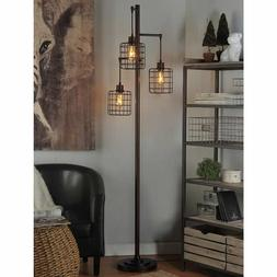 Piper Lamp, 72 Inch Tall Rubbed Bronze Finish Floor Lamp