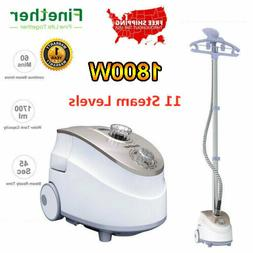 1800W Heavy Duty Stand Clothes Garment Fabric Steamer Wrinkl