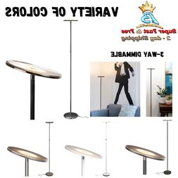 Sky LED Torchiere Super Bright Floor Lamp Office Bedroom Mod