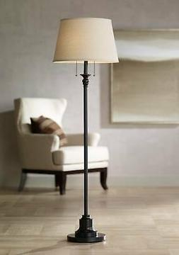 Spenser Oiled Bronze Floor Lamp