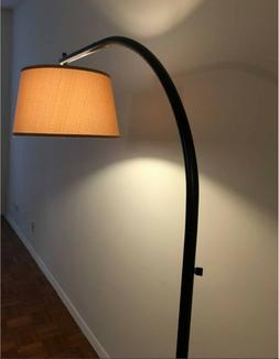 Kenroy Home Sweep Floor Lamp, Oil Rubbed Bronze Natural Line