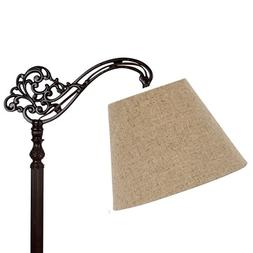 Upgradelights 10 Inch Uno Floor Lamp Shade Replacement in Be